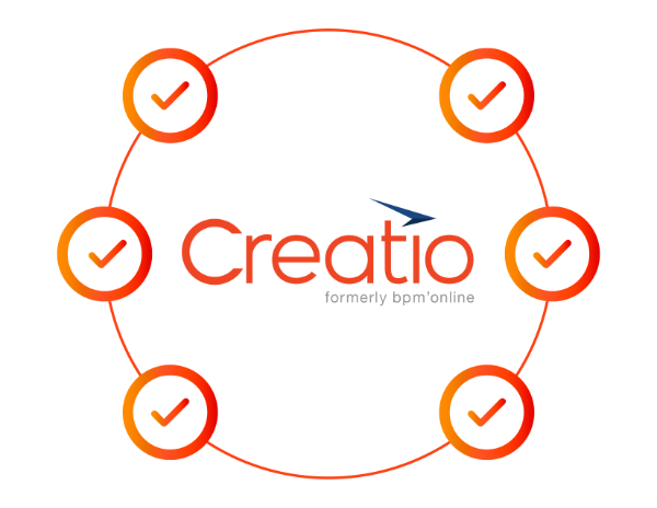Powered by Creatio BPM / CRM platform